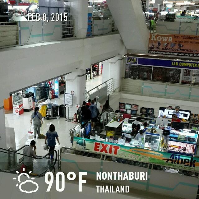 #IT mall! 6 floors of #tech! #roadtrip2015