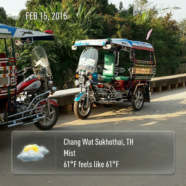 Morning rides #wx #roadtrip2015 #thailand #Sukhothai