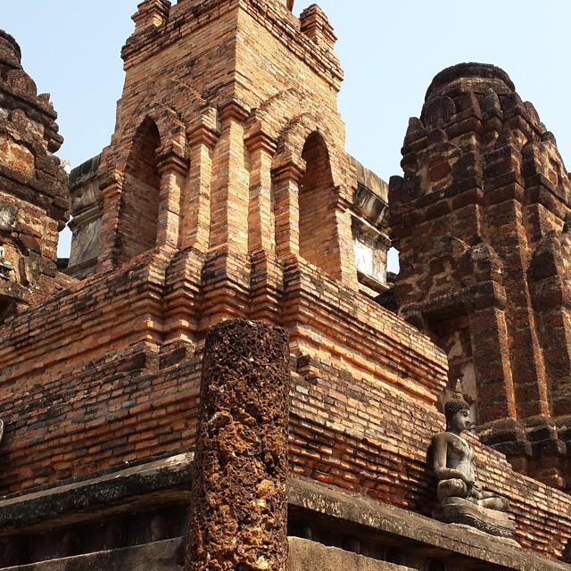 Wat Mahathat #Sukhothai #roadtrip2015