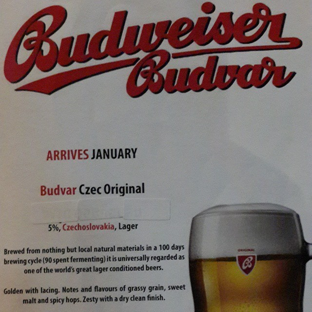 The original #Budweiser