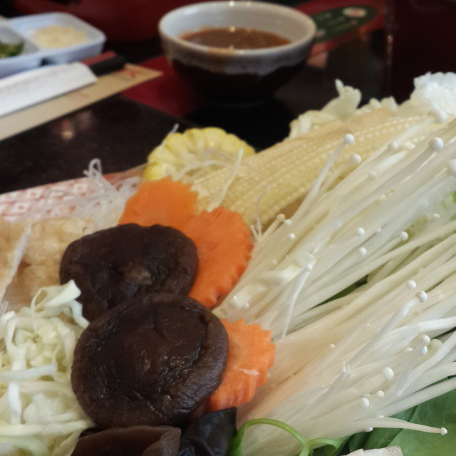 #Vegetarian suki