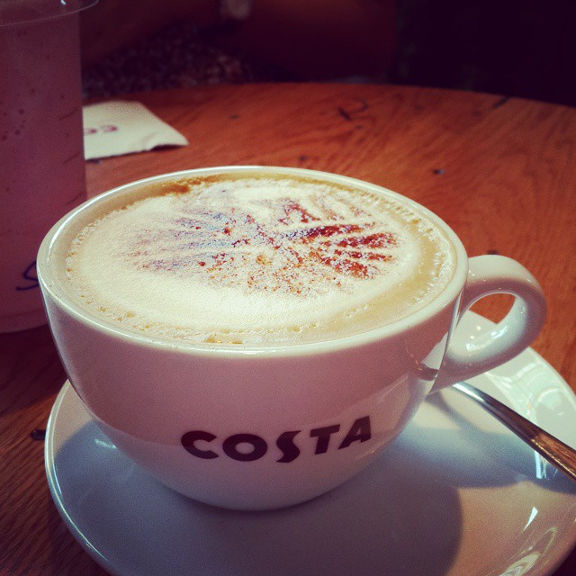 Costa time #coffee