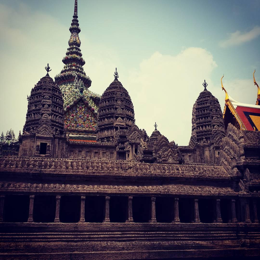 #Angkorwat replica