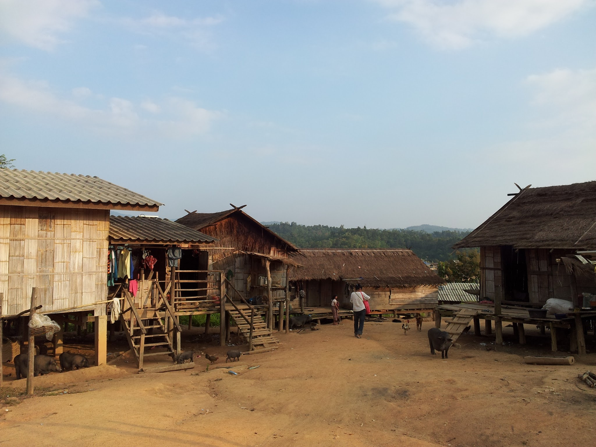 Village in Chai Prakan<img src=