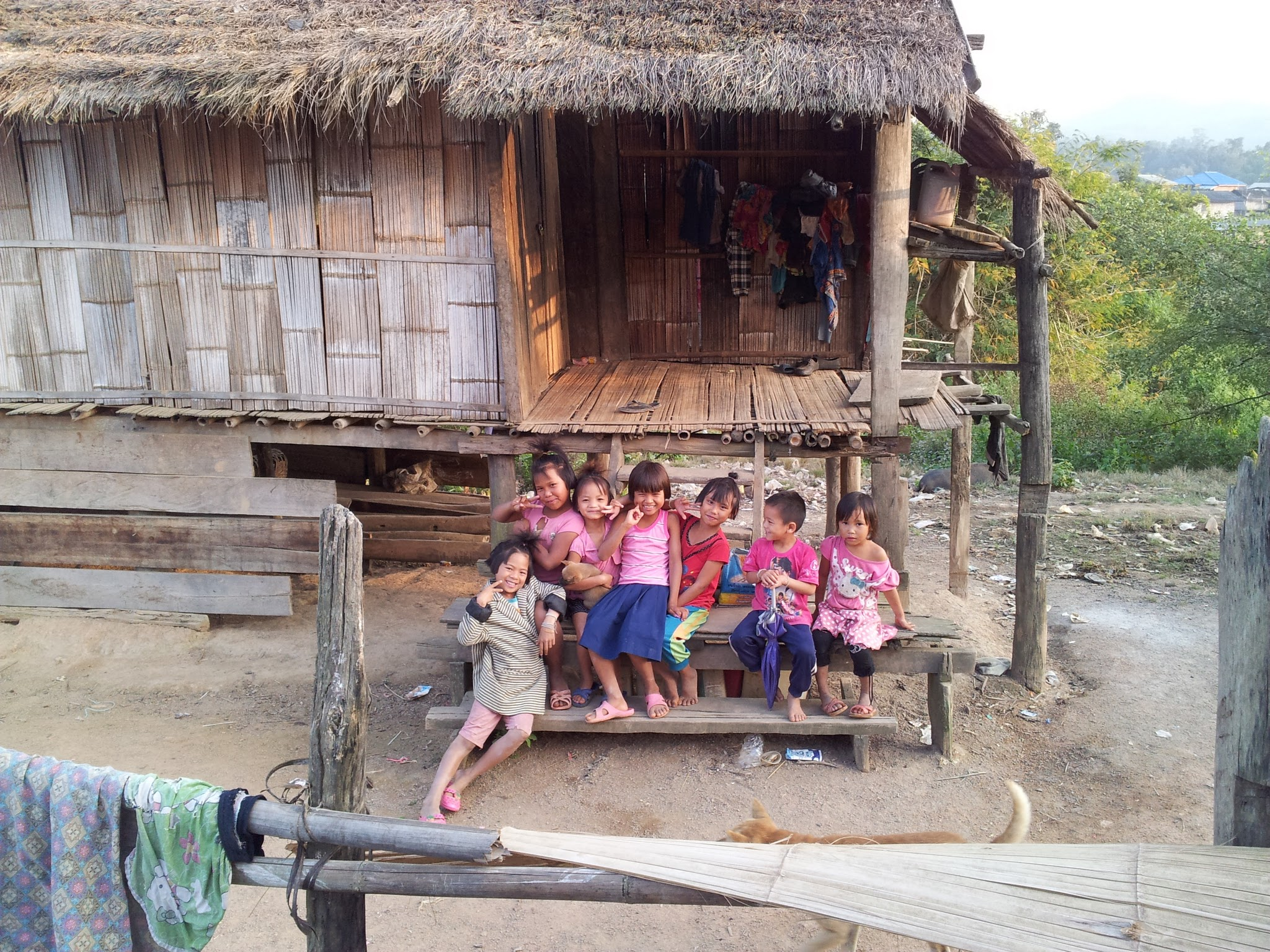 Village children