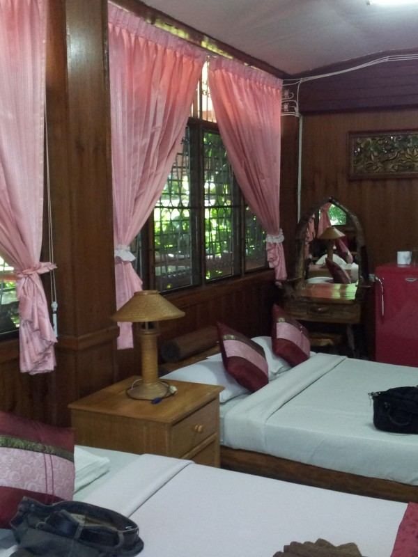 Rooms at Rimdoi Resort