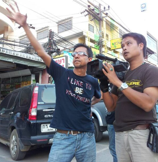 Shooting documentary at Thai Myanmar border
