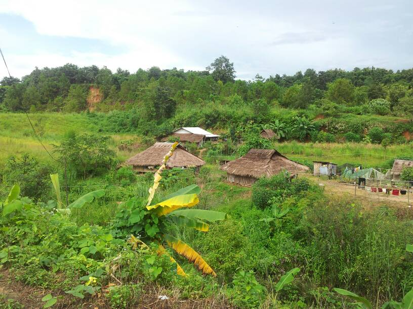 Research project in hill-tribe village