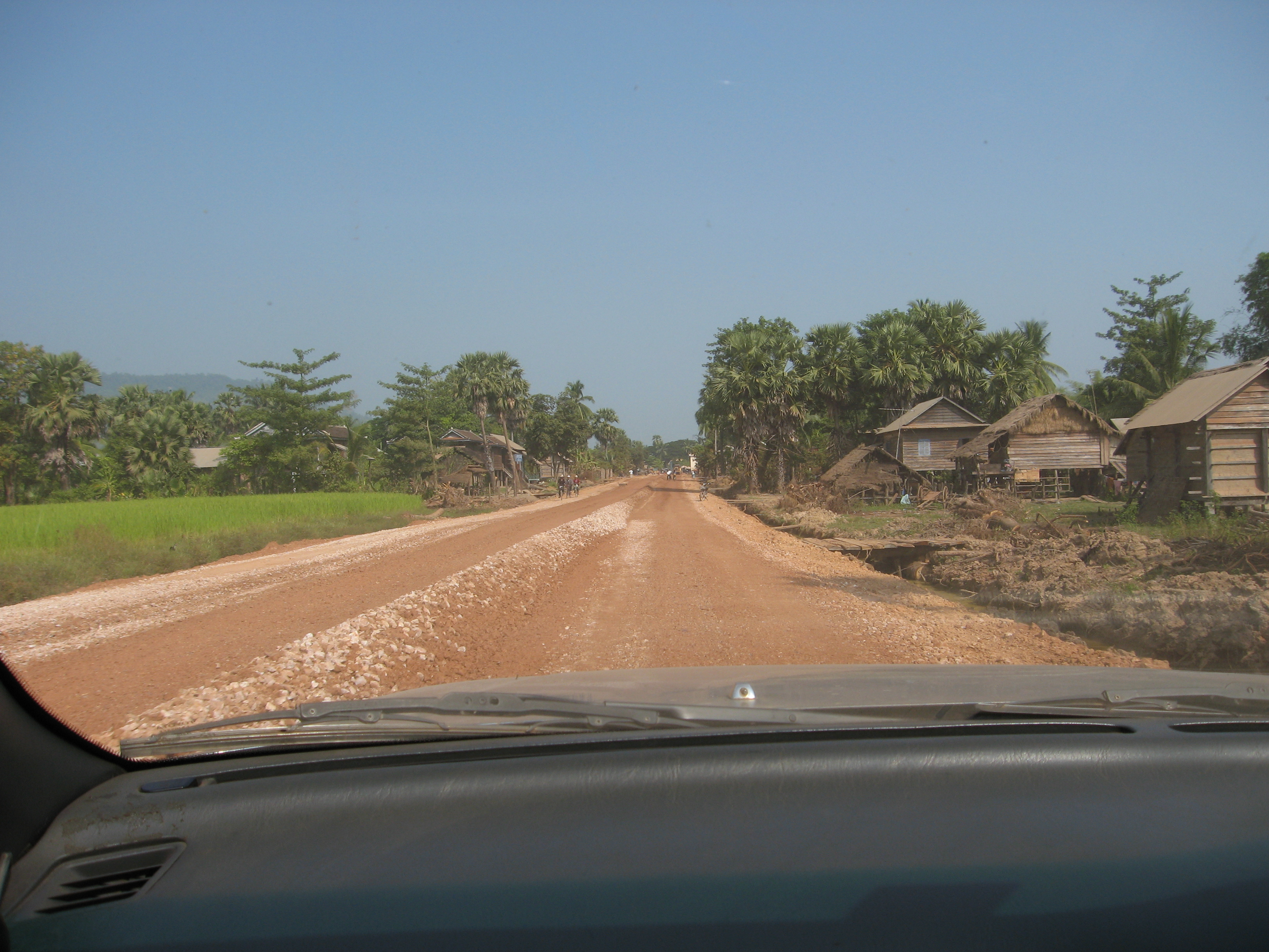 driving to Koh Ker