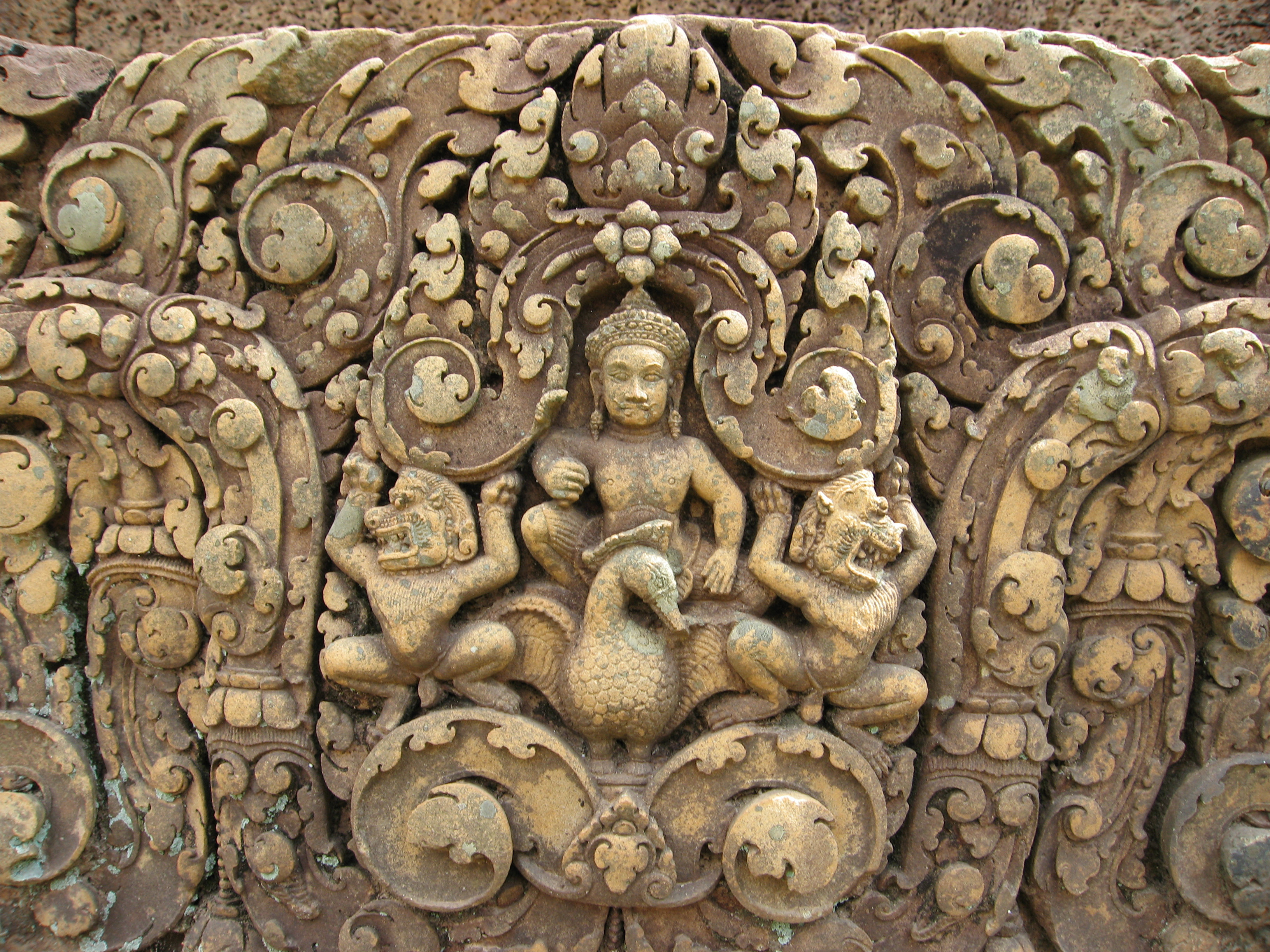 Banteay Srei ancient stone art