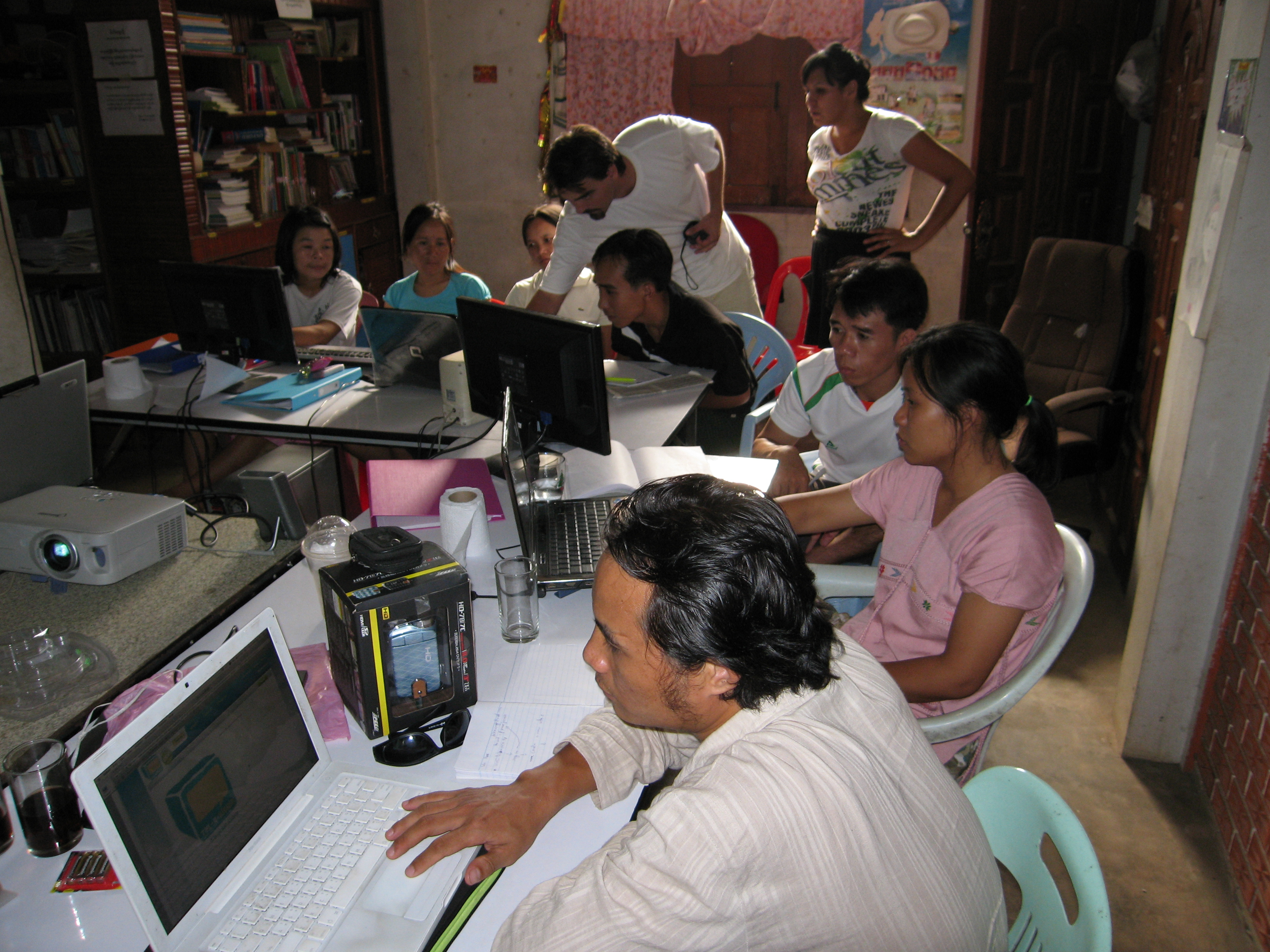 NGO workshops in Mae Sot