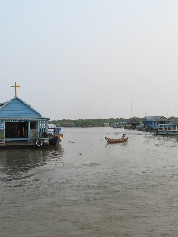 floating church