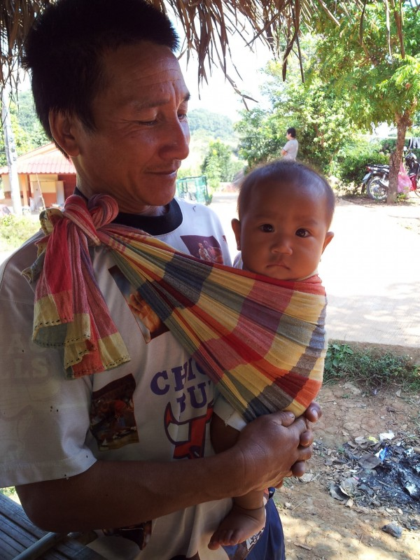 Visiting with locals in the hill tribes