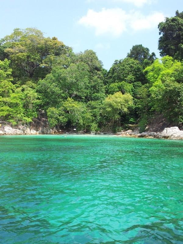 Emerald waters at Dream at Ko Lipe