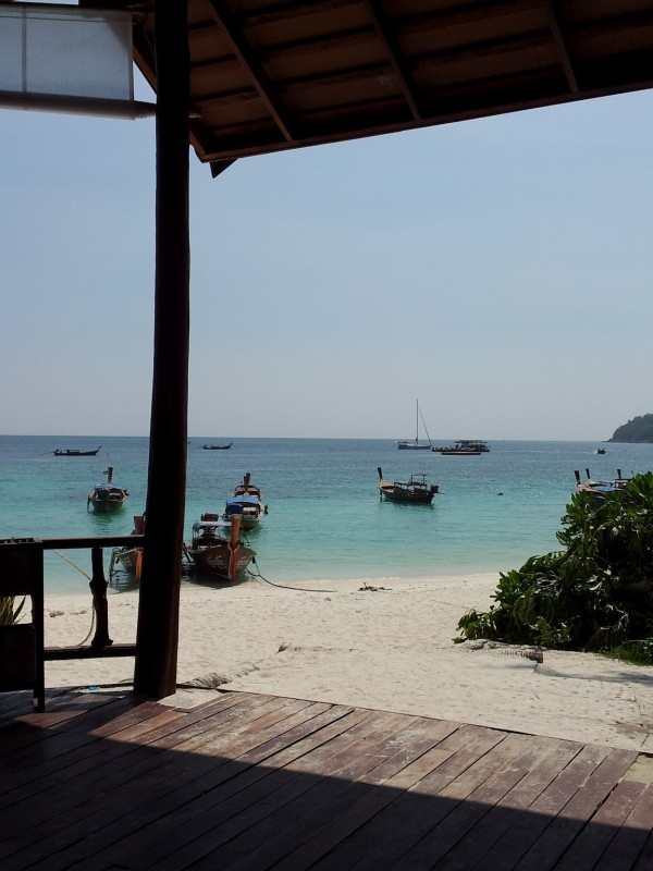 Beach view at Ko Lipe