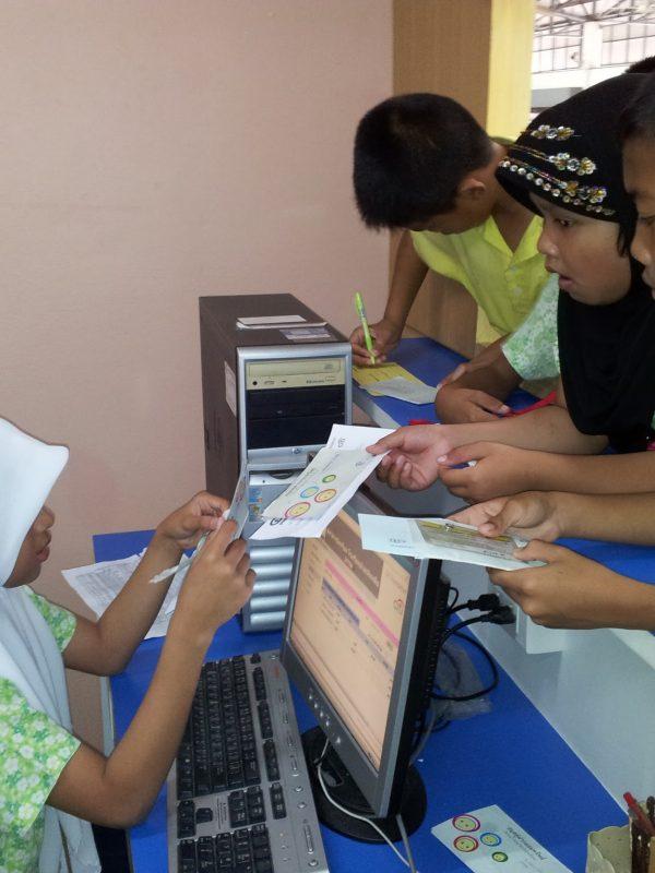 Student Bank at Chonburi school